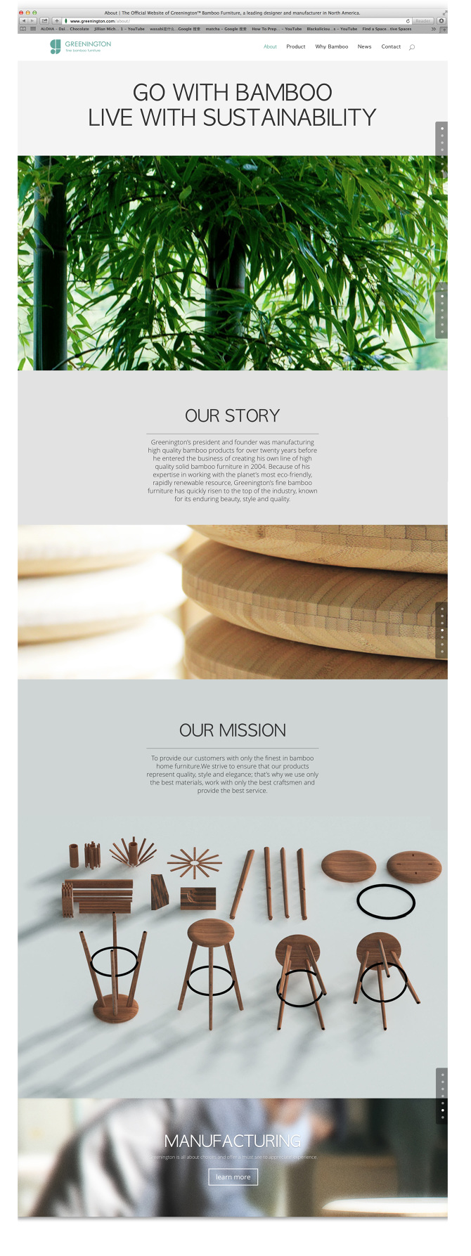 Flow Chart. 2014 (668 Views) Filed Under Digital, Branding · Greenington  Fine Bamboo Furniture
